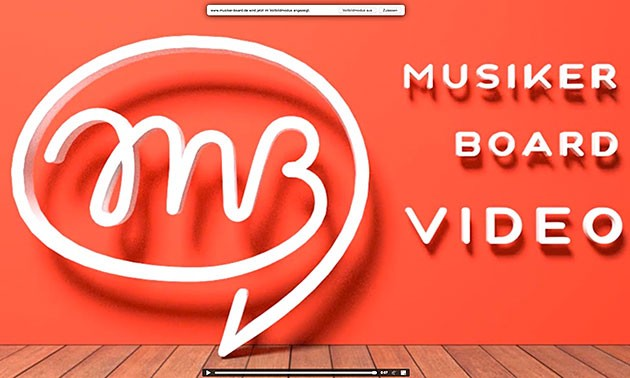 Musiker-Board Video