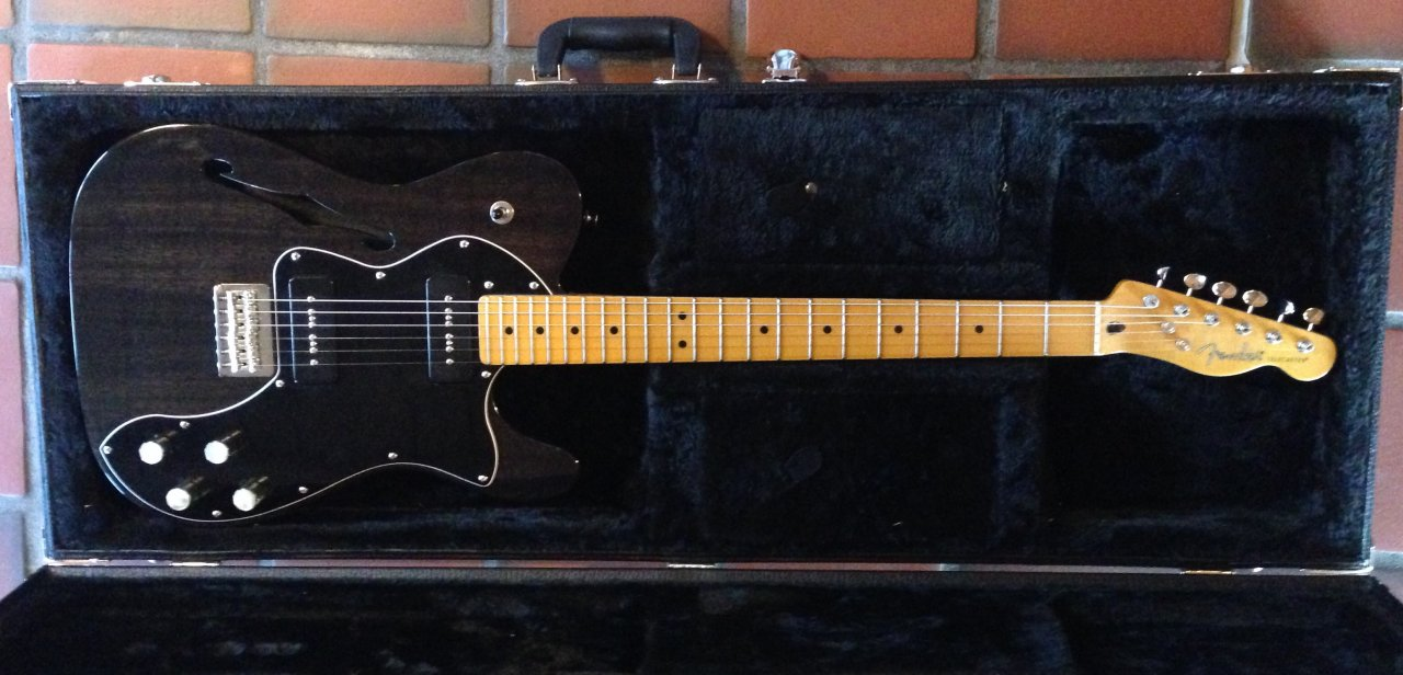 Gitarre] Fender Modern Player Telecaster Thinline Deluxe | Musiker-Board