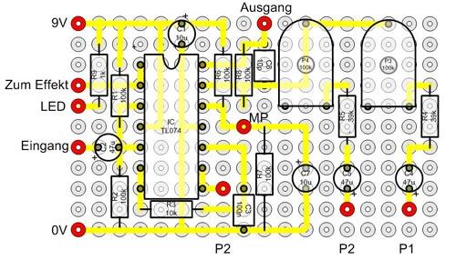 Modding - Gitarreneffekte für Baß - Teil 1-4 | Musiker-Board
