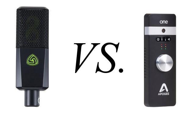 Apogee One vs. Lewitt DGT650 USB