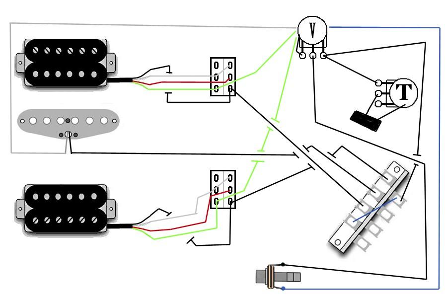 Mein Schaltplan P94 1 Tone 1 Volume korrekt ? | Musiker-Board