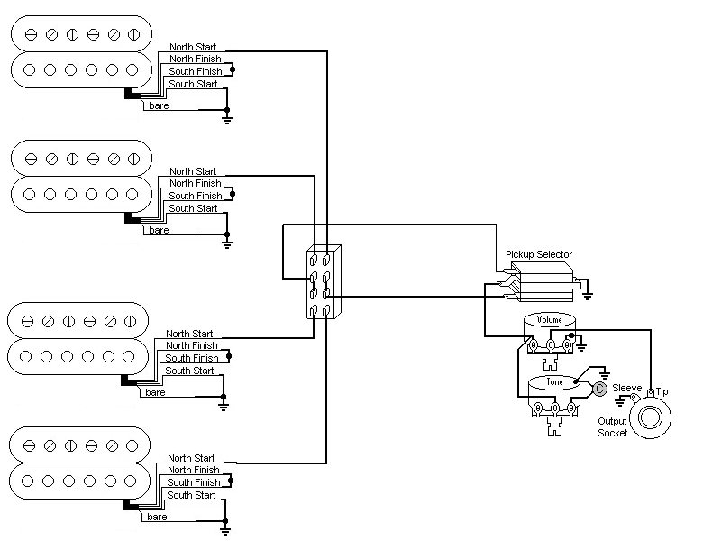 switchcraft wiring diagrams