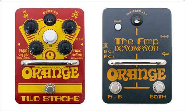 Orange Pedals