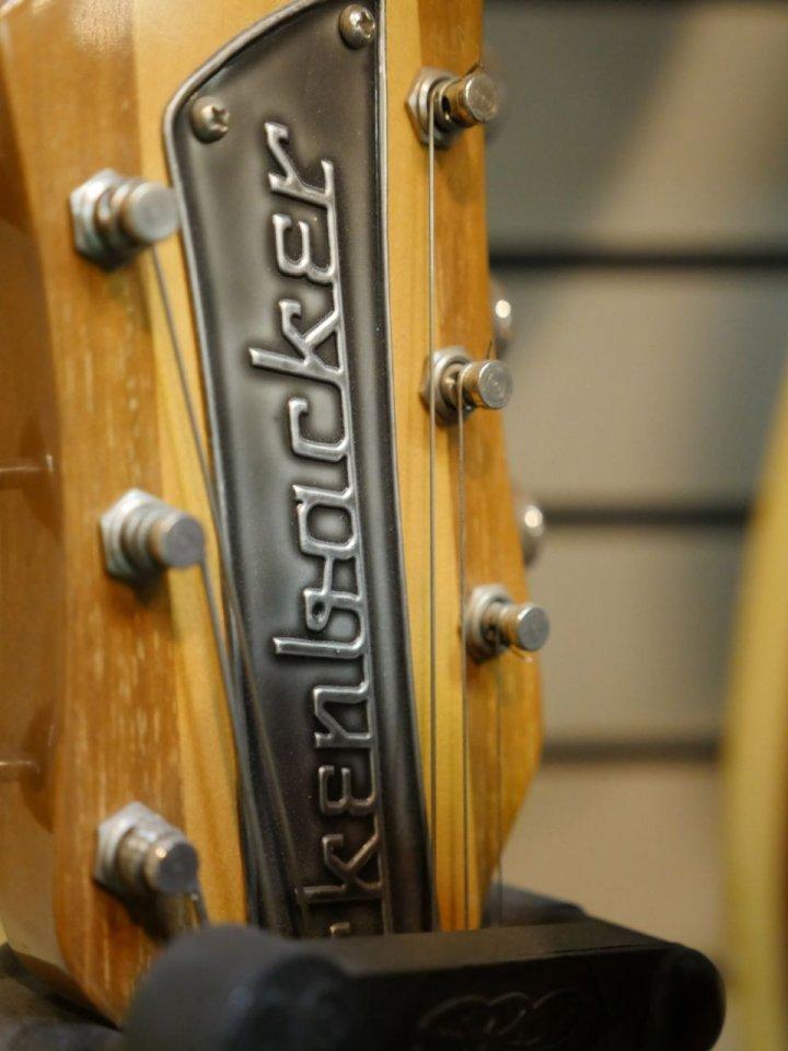 Rickenbacker Kopfplatte