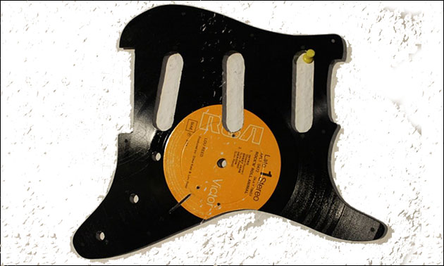 Vinyl Schlagbrett Gitarre