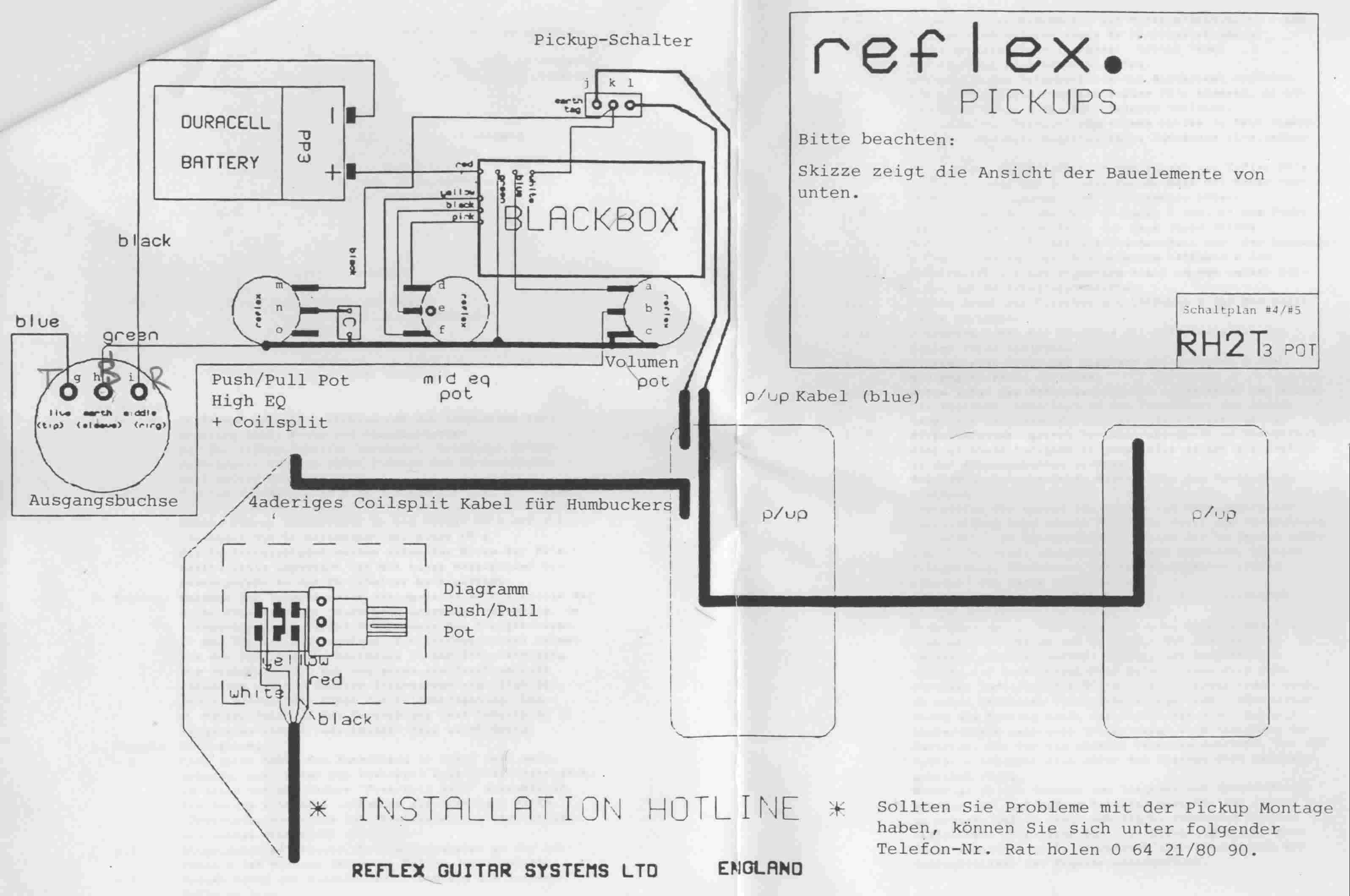 Reflex Active Humbucker-Set Review | Musiker-Board