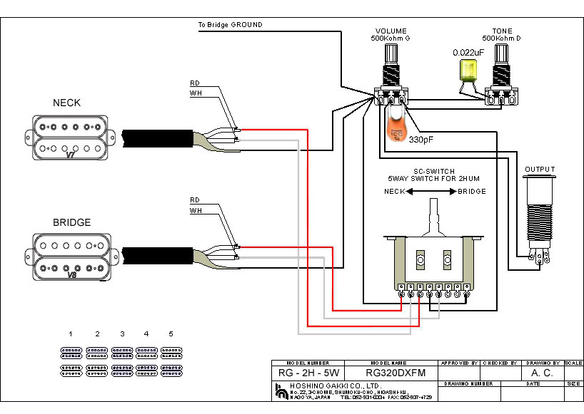 Awesome Ibanez Pickup Wiring Diagram Images Electrical Circuit