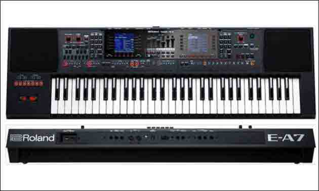 Roland E A7 Keys