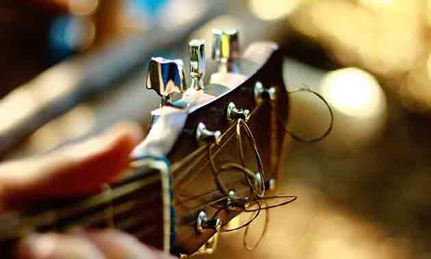 Saitentest Gitarre