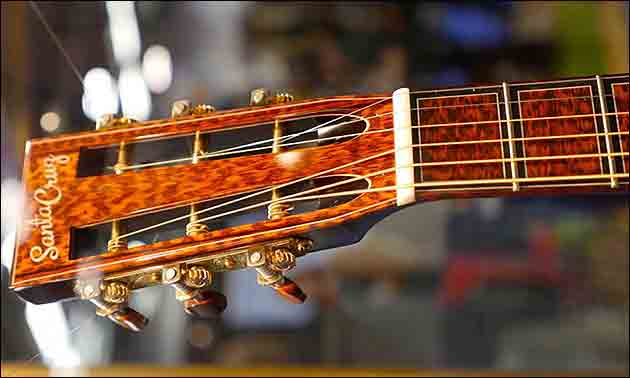 santa cruz guitars Firmentour