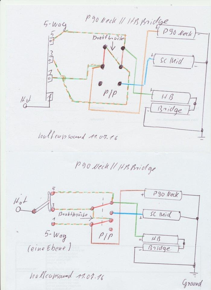 Ungewöhnlich Ein Pickup Schaltplan Galerie - Die Besten Elektrischen ...