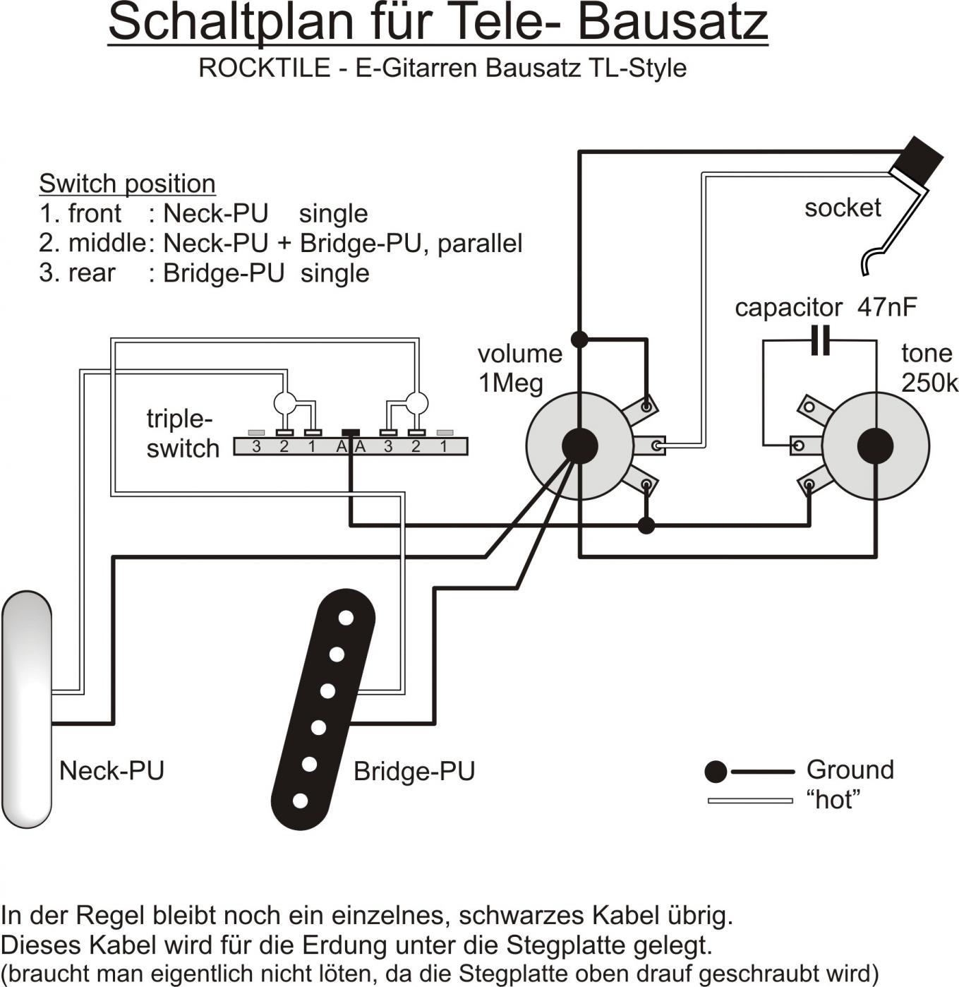 Ausgezeichnet Schaltplan Für Die Gitarrenaufnahme Bilder ...