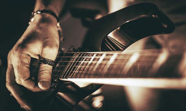 Schnelligkeit an der Gitarre