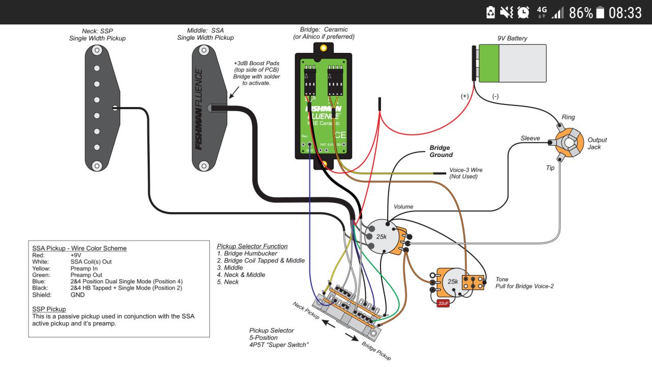 Terrific Fishman Wiring Diagram Basic Electronics Wiring Diagram Wiring 101 Orsalhahutechinfo