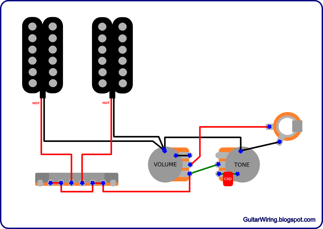 Erfreut Humbucker Pickup Verkabelung Fotos - Elektrische Schaltplan ...