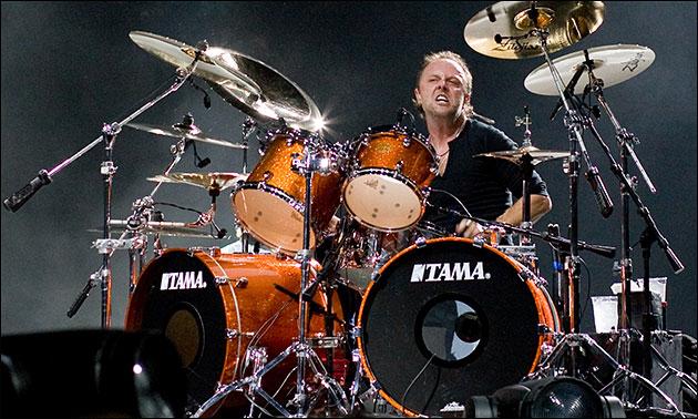 Lars Ulrich Tama Drums