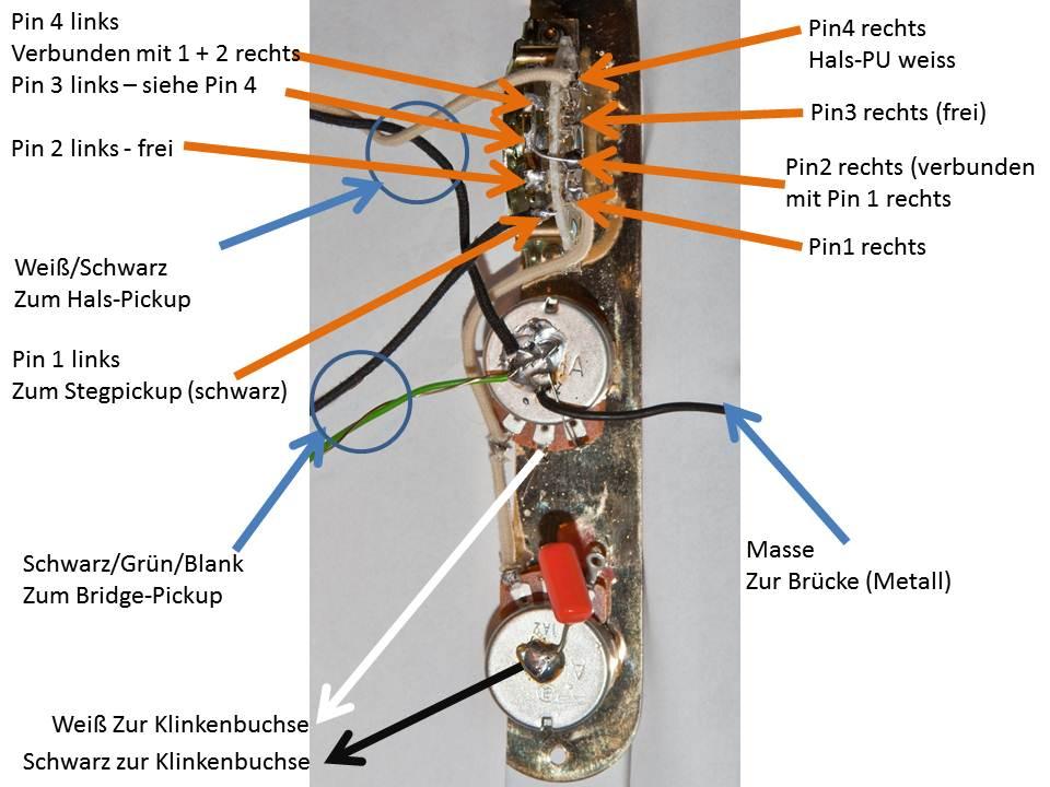 Groß Telecaster Schaltplan 3 Wege Bilder - Elektrische Schaltplan ...