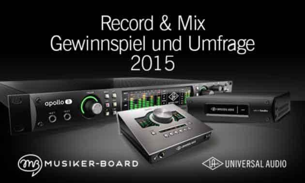 Universal Audio Umfrage