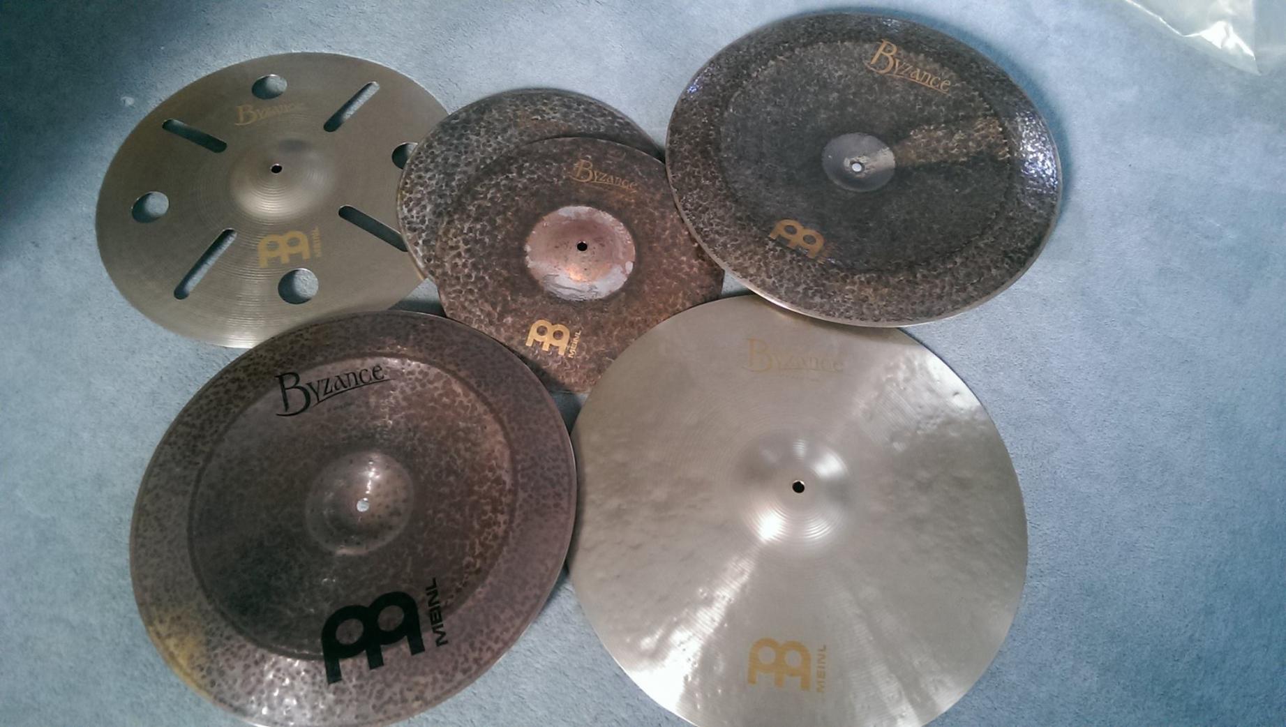 Unpacking Cymbals