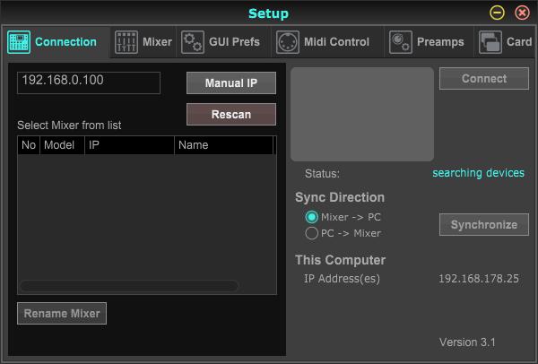 X32 mit Laptop verbinden | Musiker-Board