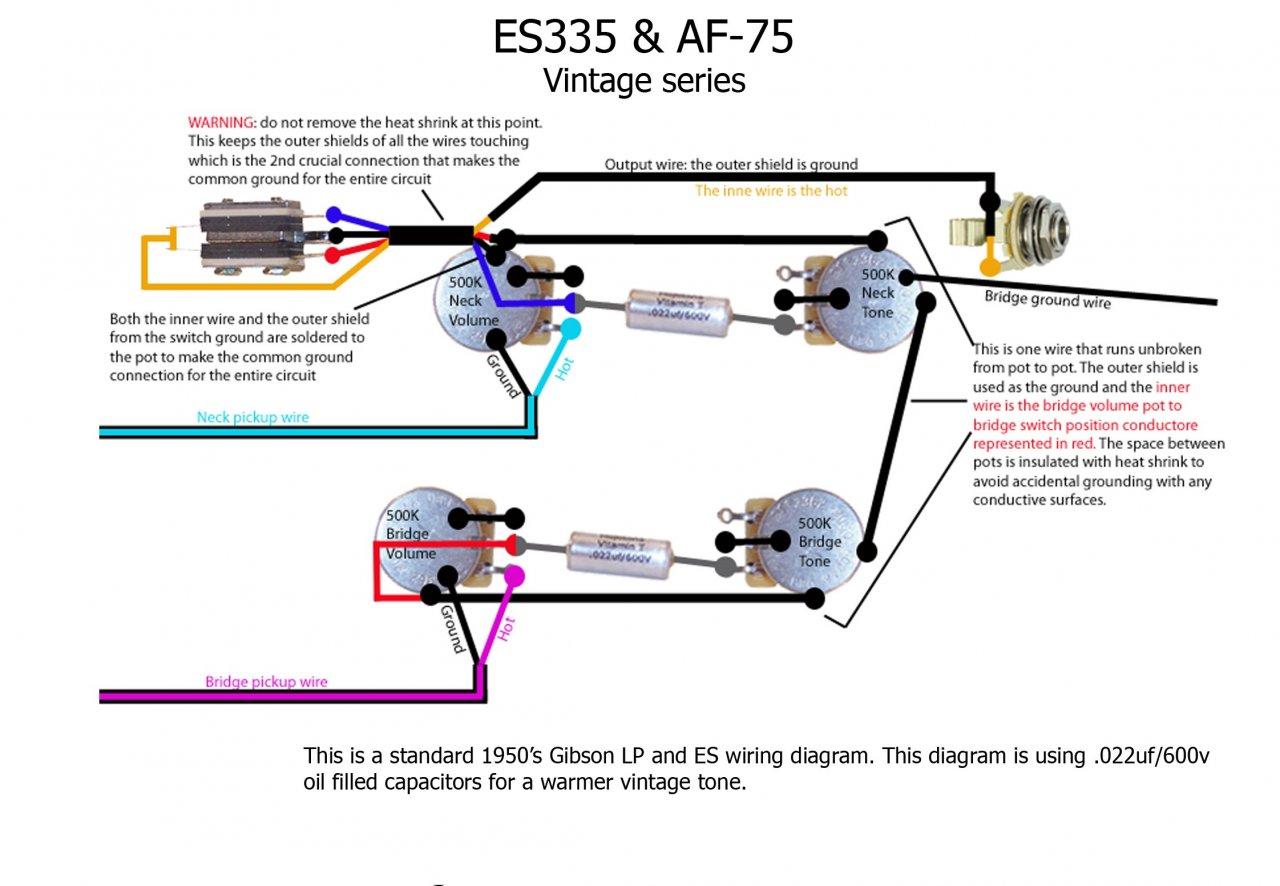 Gemütlich 1 Humbucker 1 Volumen Verkabelung Ideen - Elektrische ...
