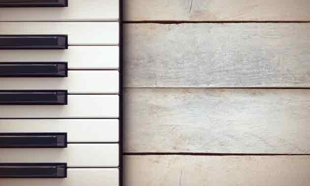 Vintage Keys Holz