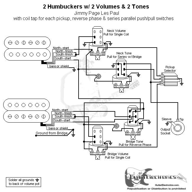 Tolle Humbucker Split Coil Verkabelung Zeitgenössisch - Elektrische ...