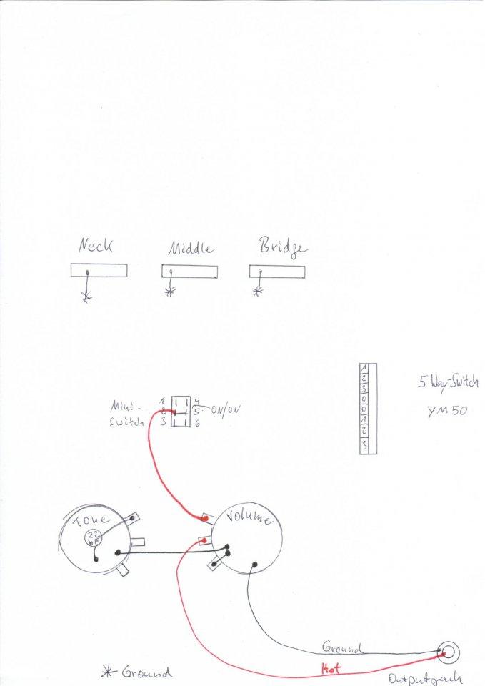 Wiring Frage zu 3 Pickups, 2 Potis u. 5 Way-Switch   Musiker-Board