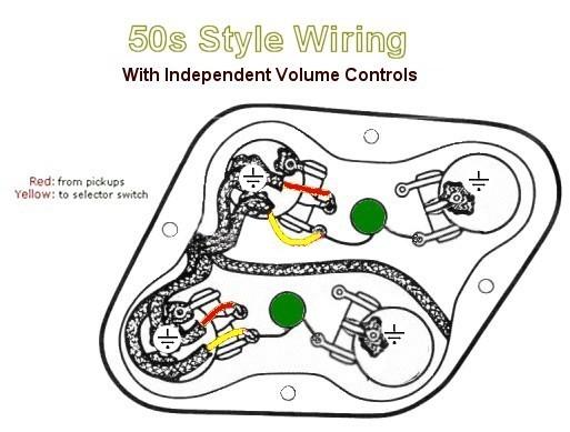 50s wiring les paul | Musiker-Board