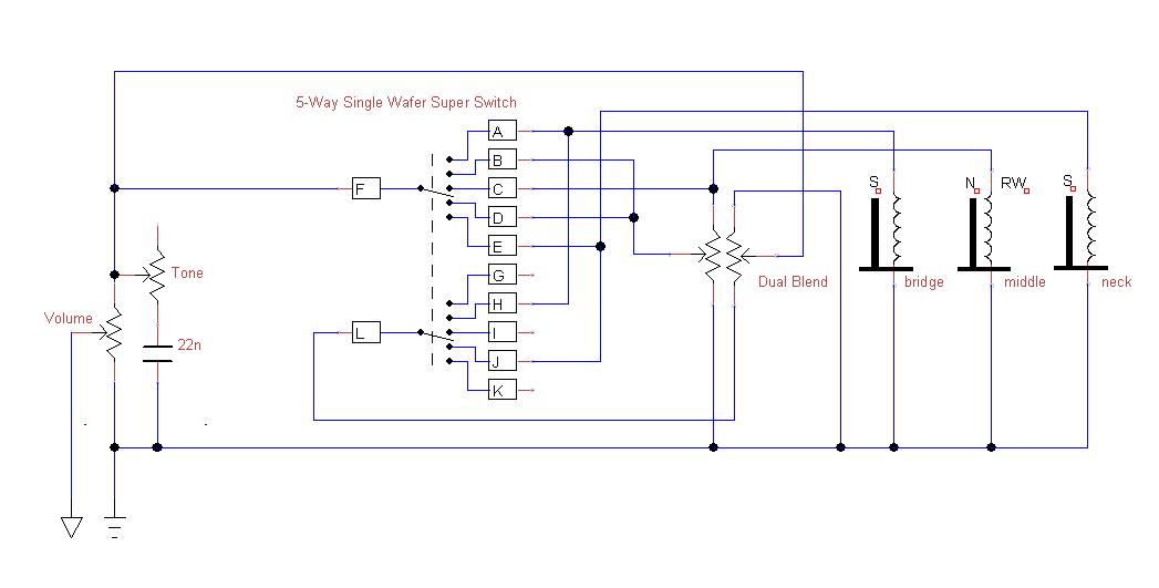 Schön Strat Super Switch Verkabelung Bilder - Elektrische Schaltplan ...