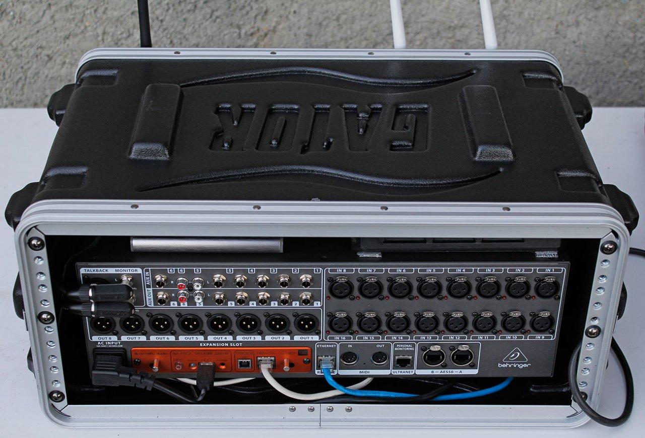 X32R im 4HE Rack