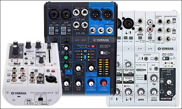 Yamaha AG Serie Übersicht