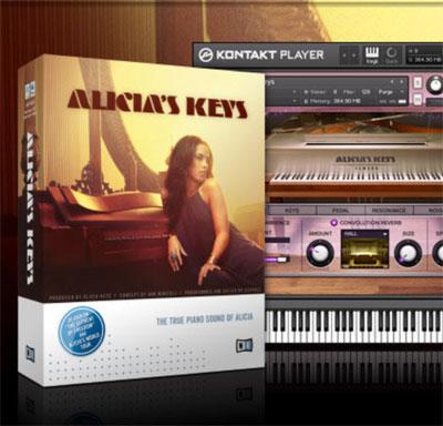 Alicia's Keys Piano VST plug-in (KOMPLETE Instrument