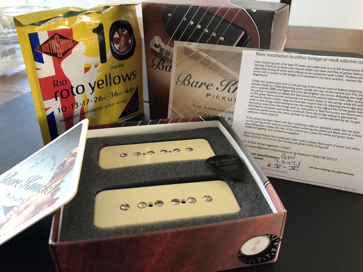 Pleasing Bare Knuckle Nantucket Soapbar P90 Pickup Set Ovp Musiker Board Wiring Digital Resources Timewpwclawcorpcom