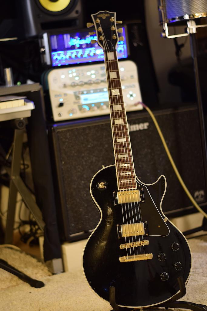 maybach lester black velvet '57 custom mit blockinlays   musiker-board