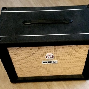 Orange PPC112 Black Schwarz Gitarrenbox 16Ohm