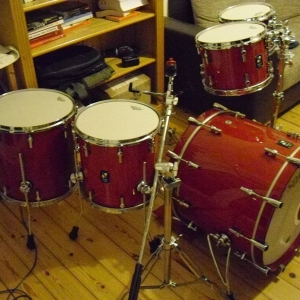 Sonor Prolite Ruby Red Shellset 7-teilig