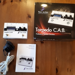 Two Notes Torpedo C.A.B. (CAB) - top Sounds, top Zustand!