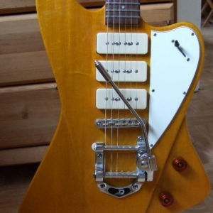 E-Gitarre, Fret King, Esprit III by Trev Wilkinson