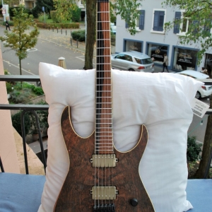 Skervesen Raptor 6 | spalted walnut top