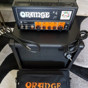 Orange Jim Root Terror Head + Fame GN112 Vintage 30 16Ohm Box