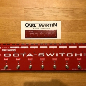 Carl Martin Octa-Switch MKII