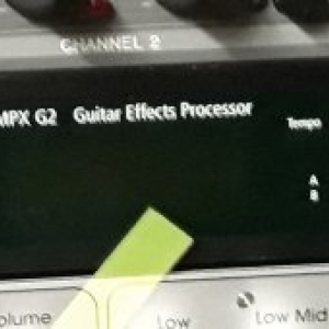 Lexicon MPX-G2 Guitar Effects Processor & R1 Foot Controller