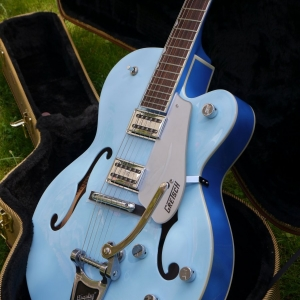 Gretsch G5120 Limited Edition Two Tone Blue, Electromatic Hollow Body