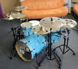 Holey Cymbals + F5 Mega und Small Bell