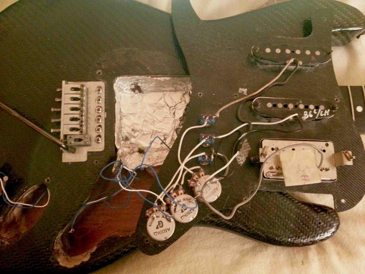 Strat-schaltung ohne Tone-Poti | Musiker-Board