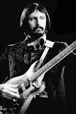 Bassist John Entwistle