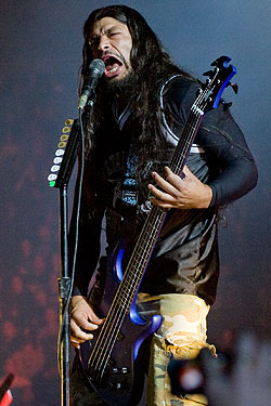 Bassist Robert Trujillo