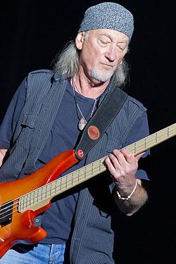 Bassist Roger Clover