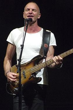 Bassist Sting